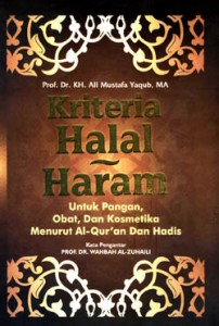 kriteria halal haram